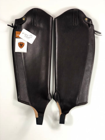 Ariat Crowne Pro Half Chaps in Brown - Front View