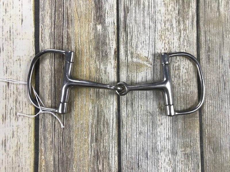 Dee RIng Smooth Snaffle Bit - 5""