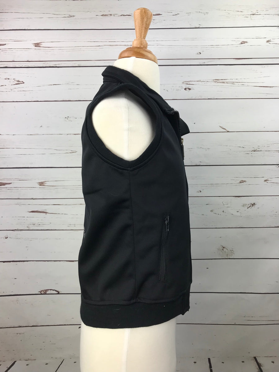 Equine Couture Riding Club Vest in Black -  Right Side View