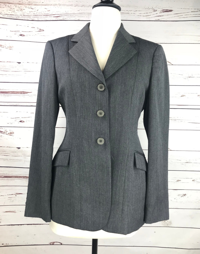 RJ Classics Essential Hunt Coat in Charcoal Grey - Women's 4R