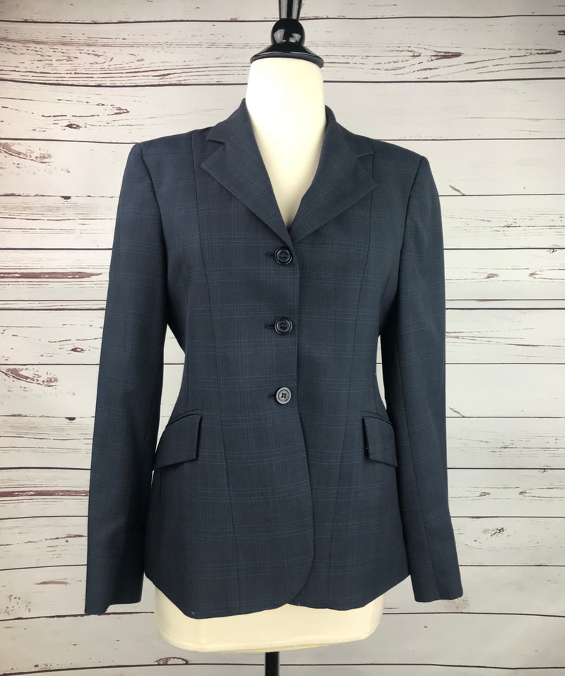 RJ Classics Essential Hunt Coat in Navy Plaid - Women's 2S