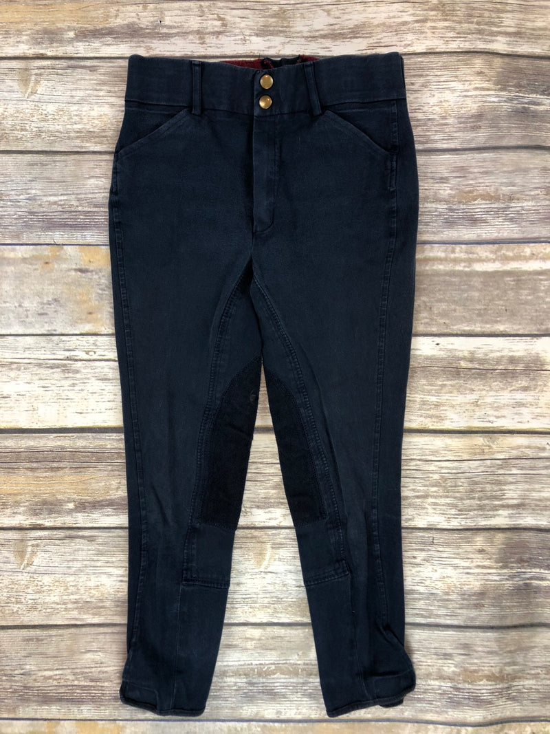 Grand Prix Breeches in Navy - Children's 16
