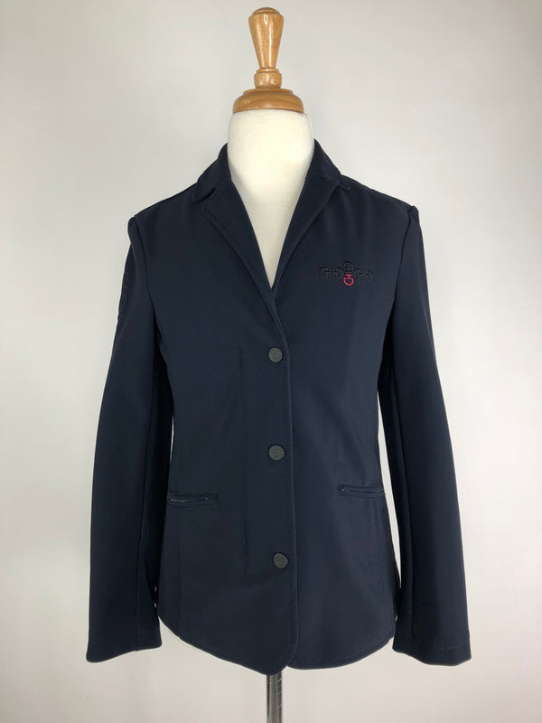 Cavalleria Toscana Competition Jacket in Navy - Children's 12