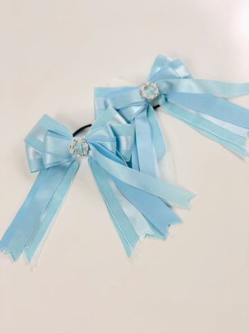 Show Bows in Blue - One Size