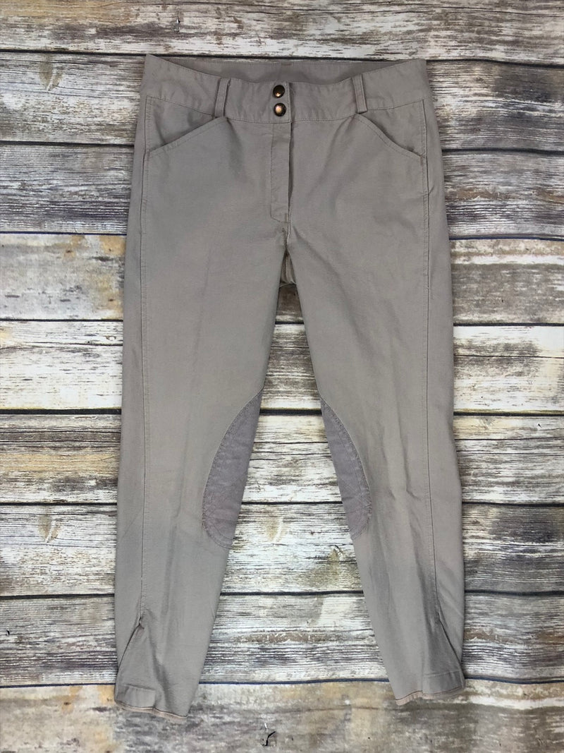 Knee Patch Breeches in Tan - Children's 14
