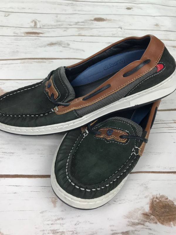 Dubarry Barbados Boat Shoe in Denim/Tan - Women's UK 7.5 (US 9.5)