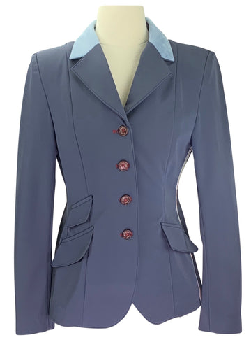 Manfredi Detachable Show Jacket in French Blue
