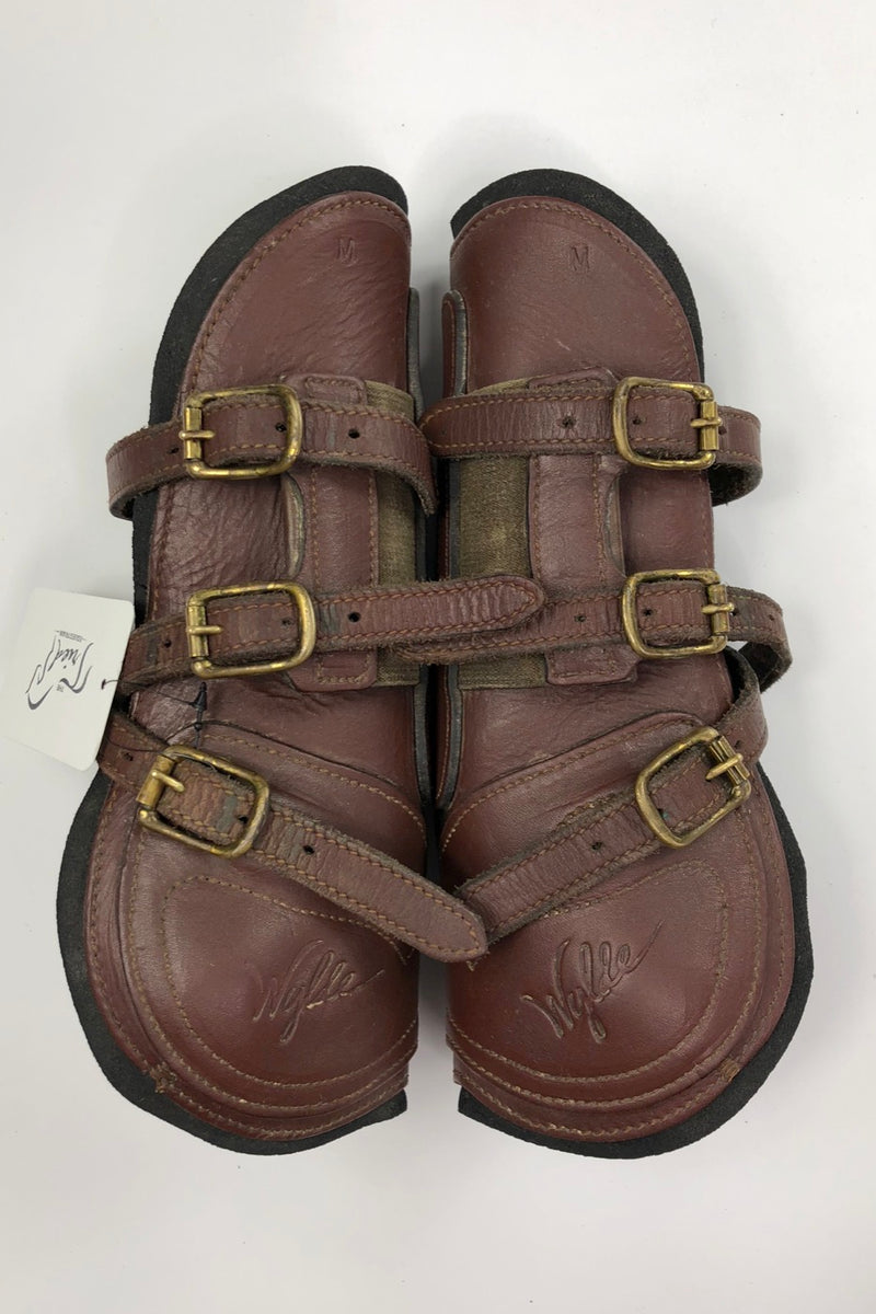 Wylde Equitation Boots in Brown - Size Medium