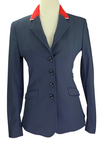 Equiline X-Cool Competition Jacket in Navy