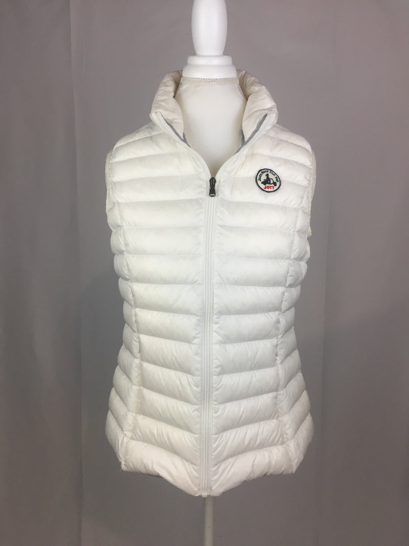 JOTT White Seda Down Vest - Women's XL
