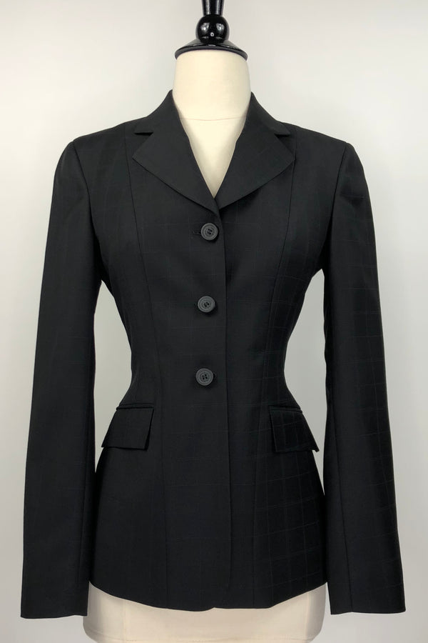 RJ Classics Sterling Collection Hunt Coat in Black Check - Women's 0R