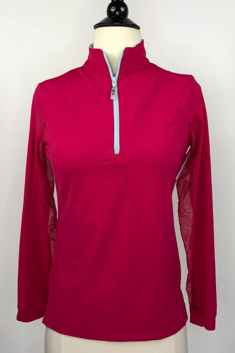 EIS Two Toned Cool Shirt in Cherry Breeze - Women's Small