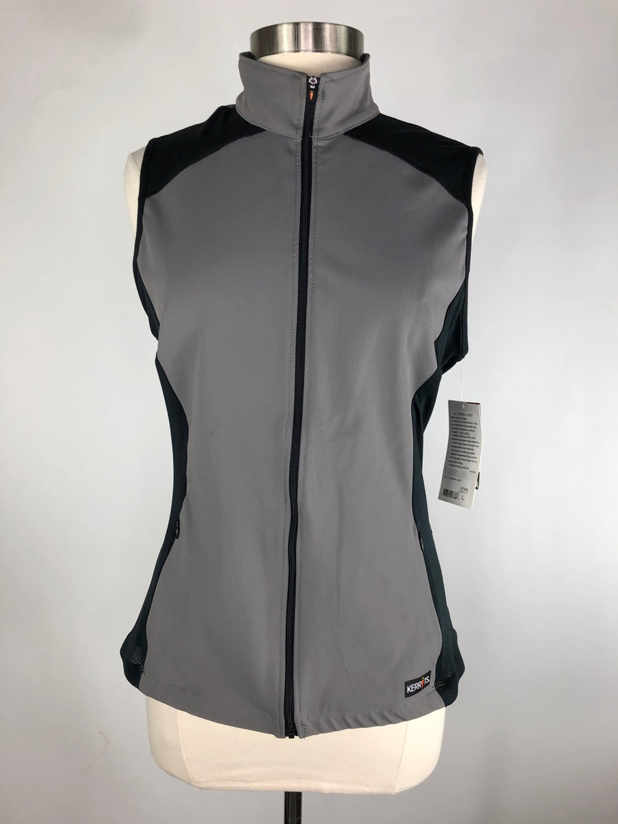 Kerrits All Terrain Vest in Graphite - Front View