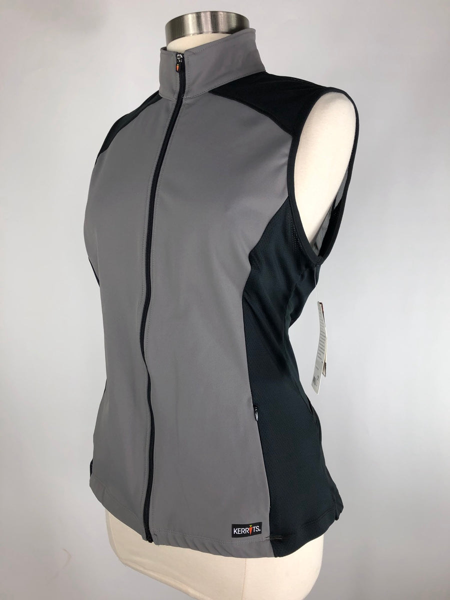 Kerrits All Terrain Vest in Graphite -  Left Side View