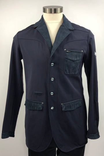 Navy Animo Competition Jacket- Front View