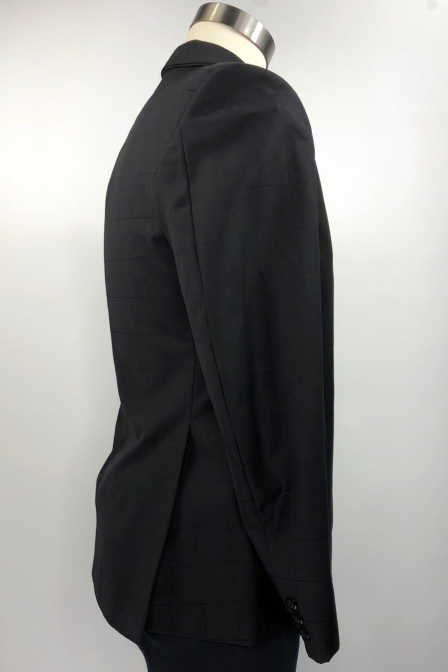 Grand Prix Hunt Coat in Black Check - Men's 40R