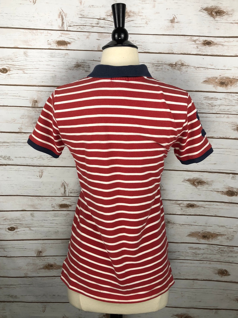Polo Ralph Lauren Polo in Red Stripe - Youth Large