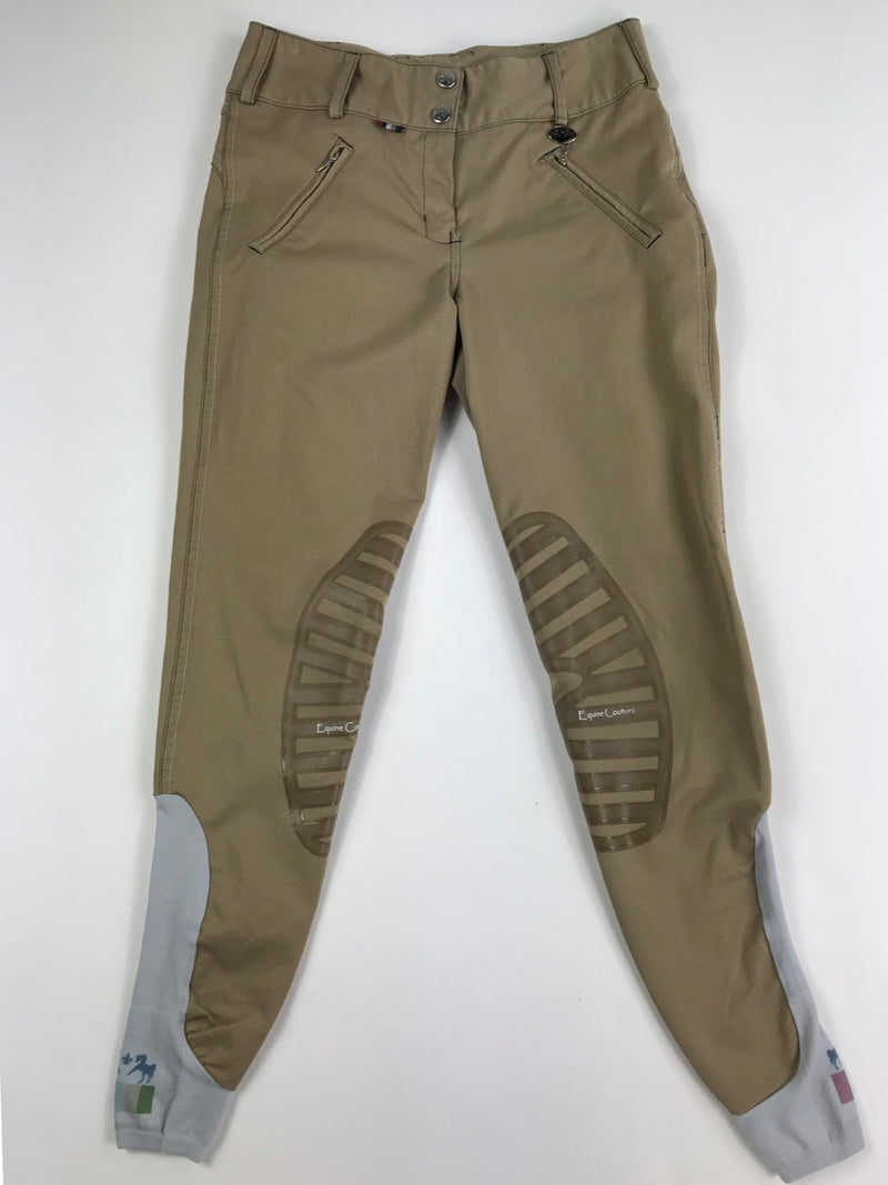 Equine Couture Beatta Breeches in Safari - Women's 24R