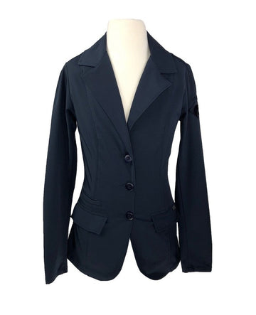 Arista Show Jacket in Navy - Front View