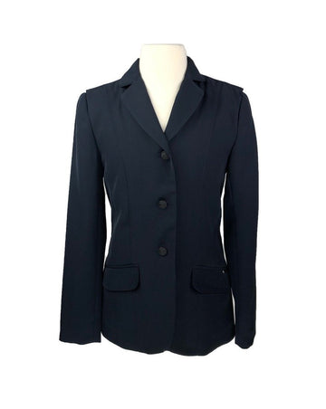 Ariat Heritage Show Coat in Navy -Front View