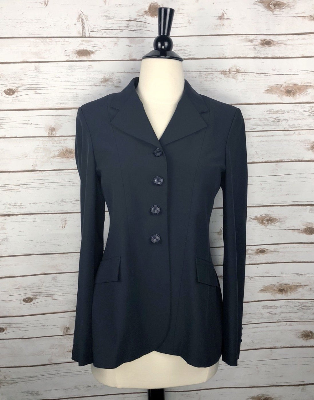 Grand Prix TechLite Hunt Coat in Navy - Women's 10R (US 4R)