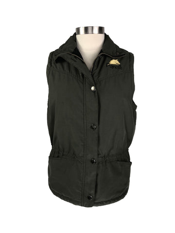 Parelli Vest in Olive Green -  Front View