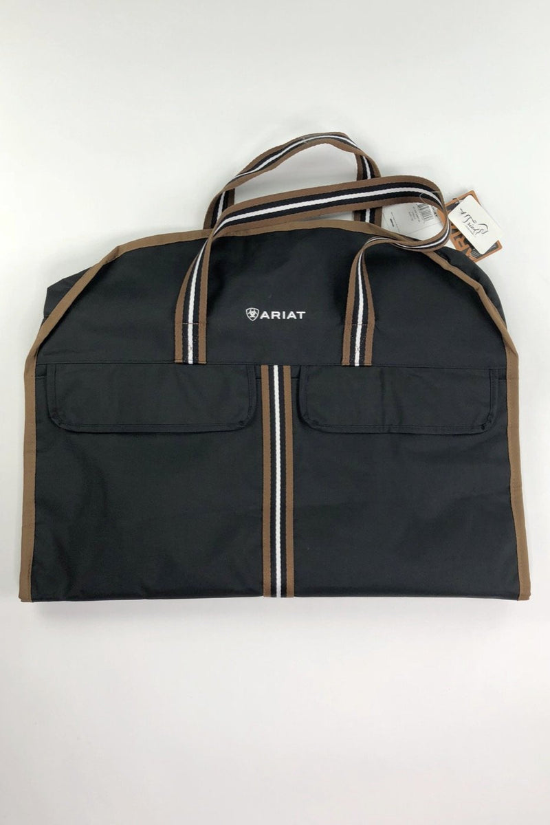 Ariat Show Garment Bag in Black/Tan - One Size