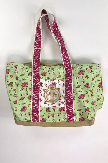 Equine Couture Bindia Tote Bag in Jade  - One Size