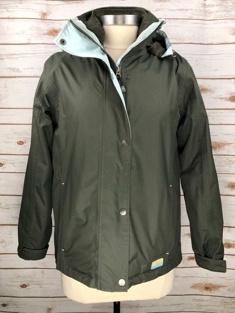 Joules New Dakota 3-in-1 Jacket in Crocodile - Women's XS