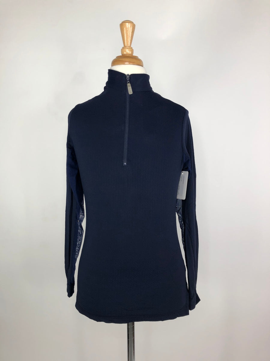 EIS Cool Shirt in Navy -  Front View
