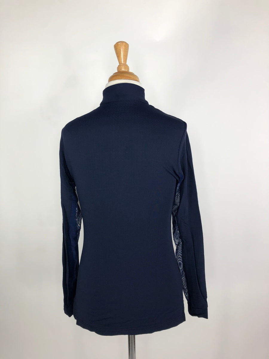 EIS Cool Shirt in Navy - Back View