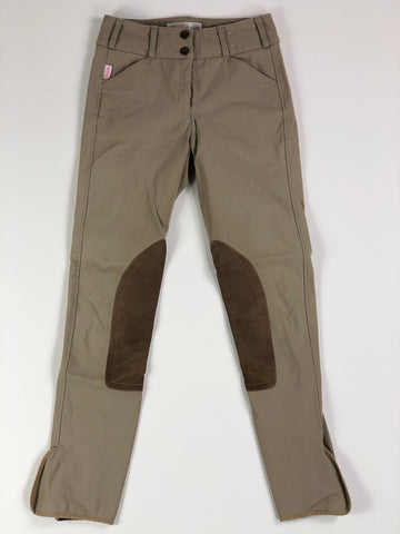 Tailored Sportsman Trophy Hunter Breeches in Tan - Women's 22L | XS