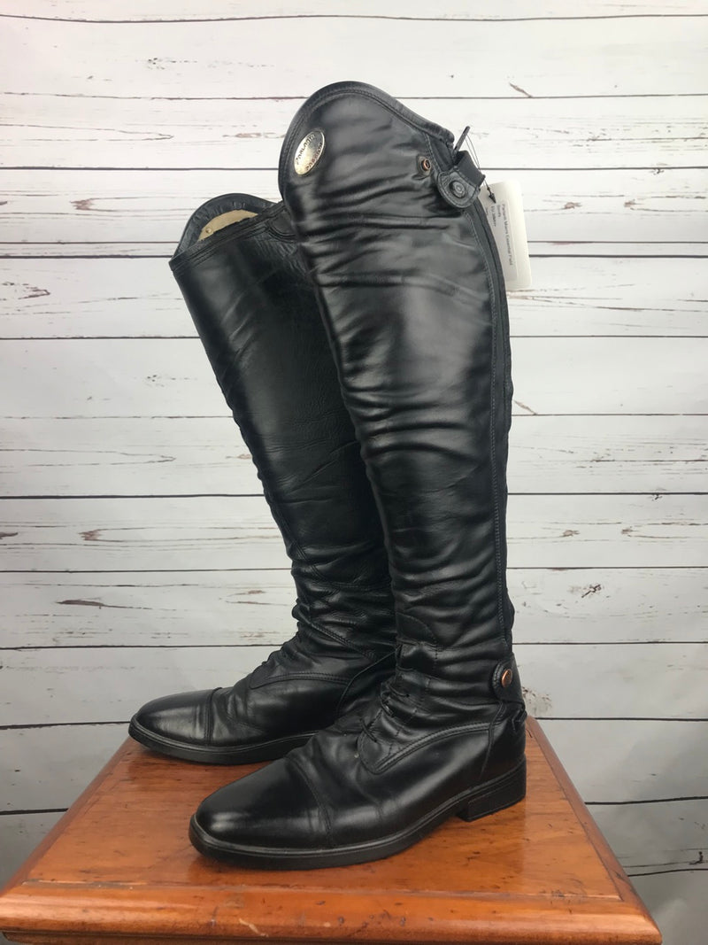 Parlanti Miami Essential Field Boots in Black - Size EU 38MH+