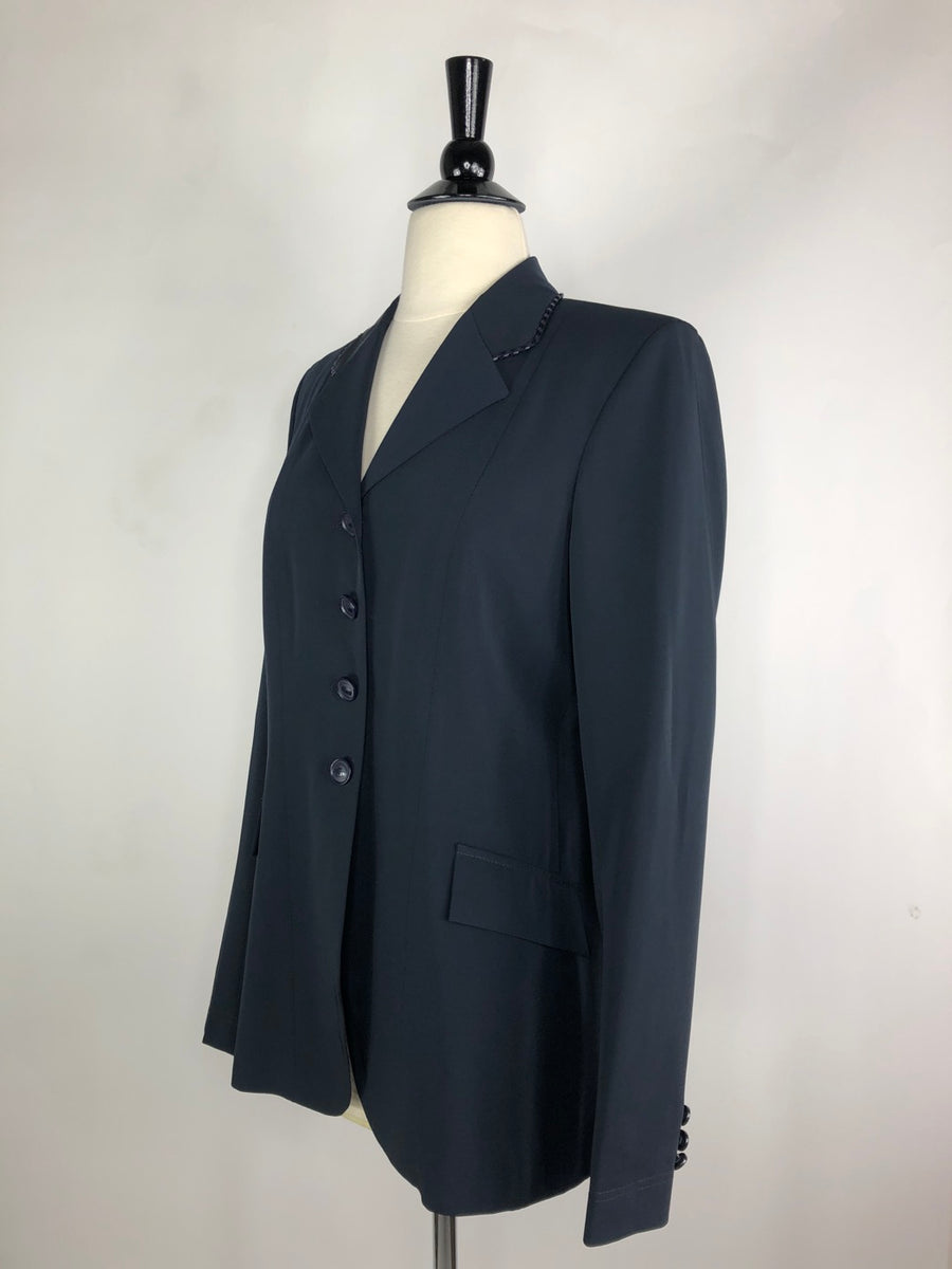 Grand Prix TechLite Show Jacket in Navy -  Left Side View