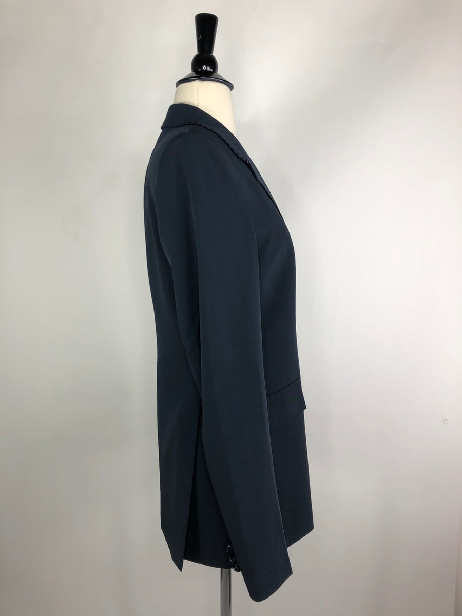 Grand Prix TechLite Show Jacket in Navy -  Right Side View