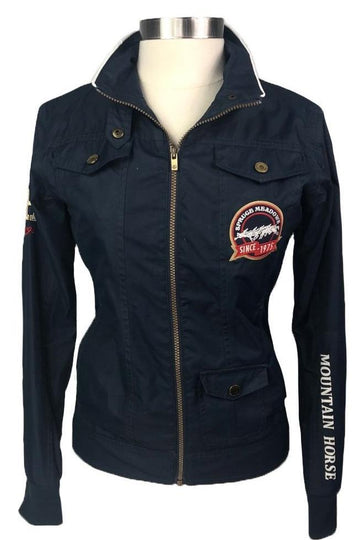 Mountain Horse Spruce Meadows Jacket in Navy - Front View