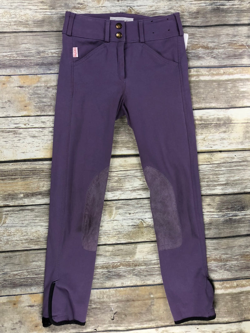 The Tailored Sportsman Trophy Hunter Breeches in Mulled Grape - Children's 10R