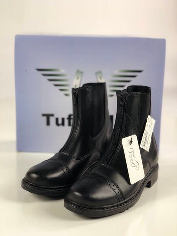 TuffRider Starter Zip Paddock Boots in Black - Children's 2