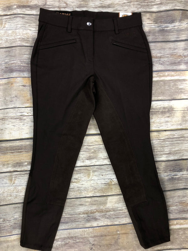 Ariat Heritage Full Seat Breeches in Espresso - Women's 26R