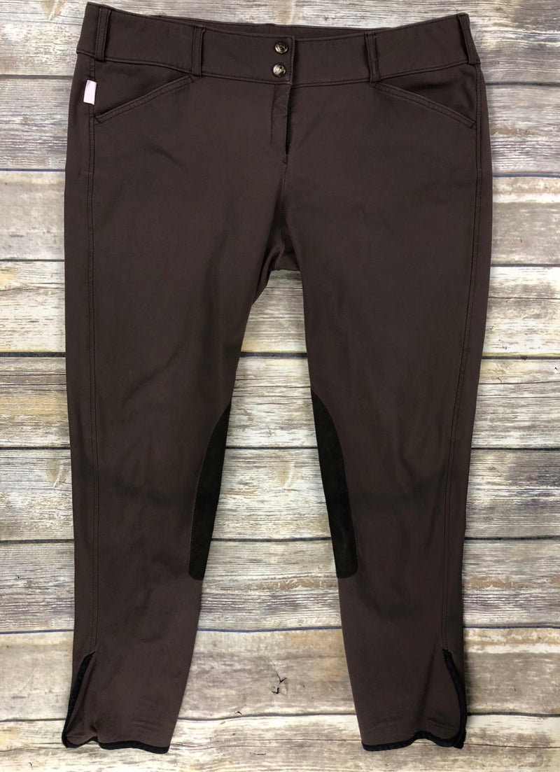 The Tailored Sportsman Trophy Hunter Breeches in Brown - Approx Women's 34