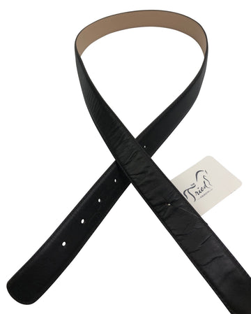 Alessandro Albanese Reversible Belt Leather in Black and Tan