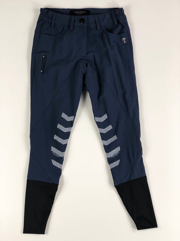 Aztec Diamond Technical Breeches in Navy - Front View