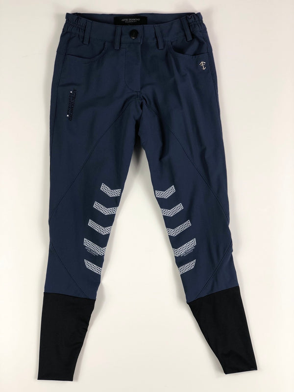 Aztec Diamond Technical Breeches in Navy - Women's UK 4/US 0