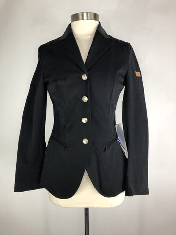 Black Amity Adelaide Show Jacket - Front View