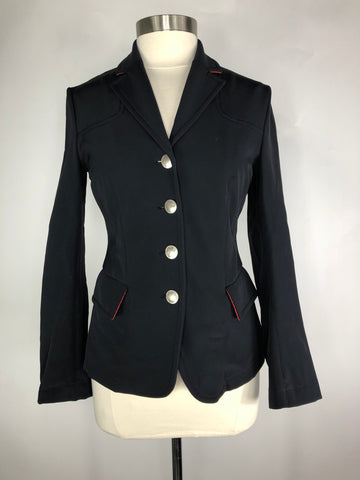 Black Amity Quinta Show Jacket- Front View
