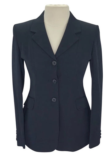 Front view of Ovation Classic Performance Coat in Navy