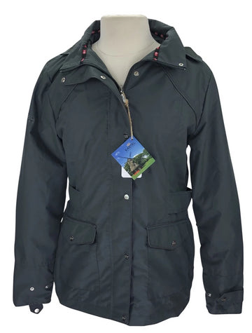 Kastel Christine All-Weather Jacket in Grey with full zip