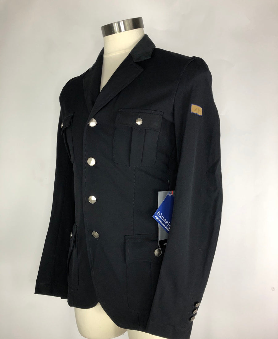 Black Amity Rainbow Show Jacket - Left Side View