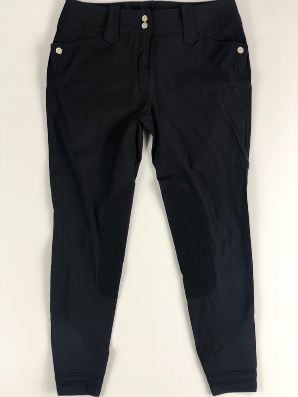 Michael and Kenzie 1911 Elegance Breeches in Black - Women's 30