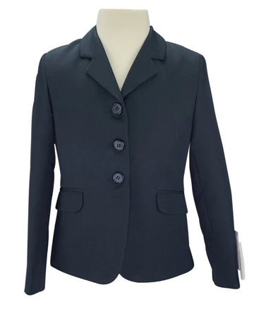 front view of Equistar Children's Riding Jacket in Navy